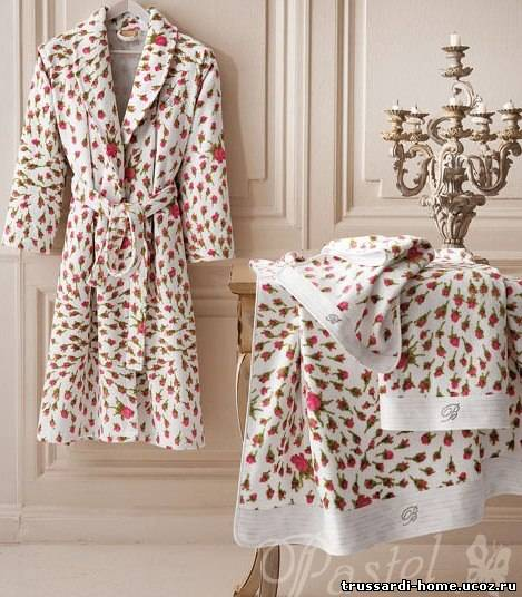Домашний текстиль из Италии и Турции.