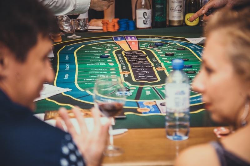 Интерактив Винное казино на мероприятие