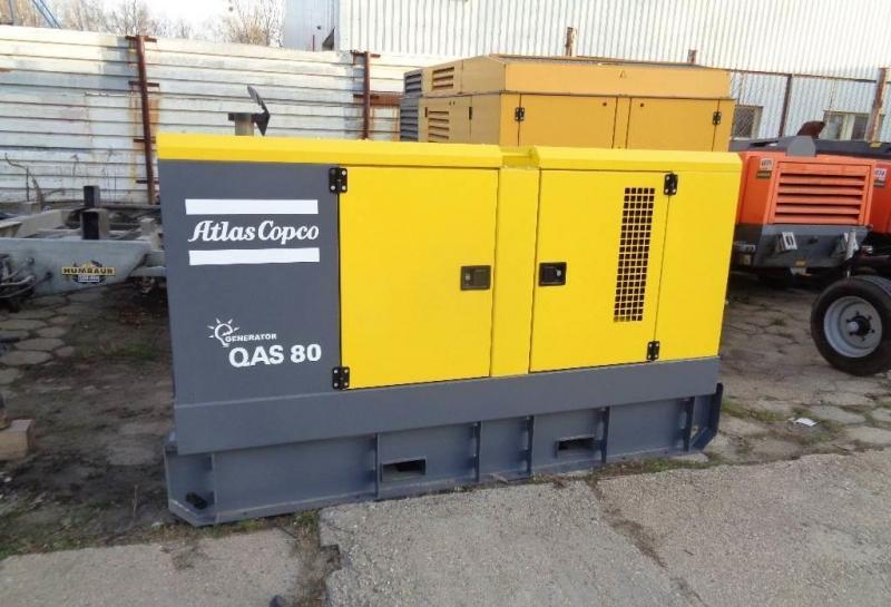 дизельный генератор ATLAS COPCO QAS80 400V-3