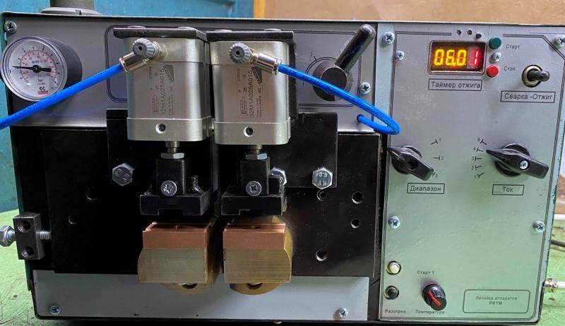 Аппарат сварки полосы. Сварка прутков, проволоки. АСП2012